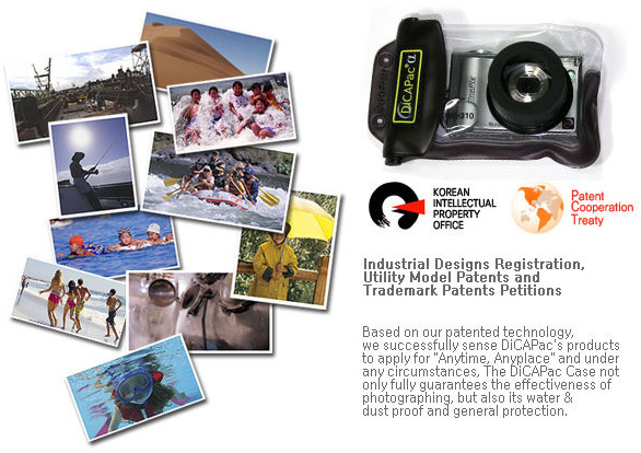 Dicapac malaysia underwater waterproof case for camera & ipad